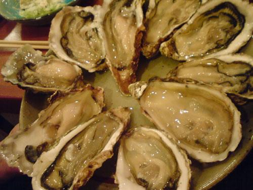 牡蠣のしゃぶしゃぶ 茅場町@新川河岸