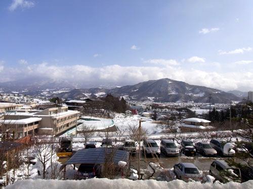 名月荘からの眺め