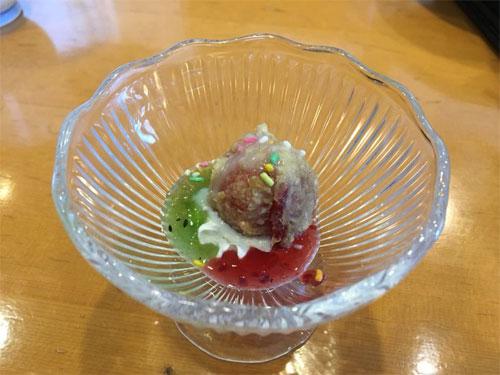 いちごの天ぷら
