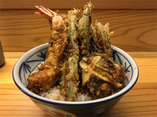 えび野菜天丼