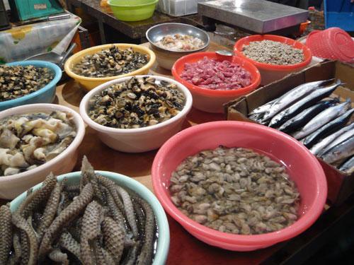 海南島旅行 買い物編 市場