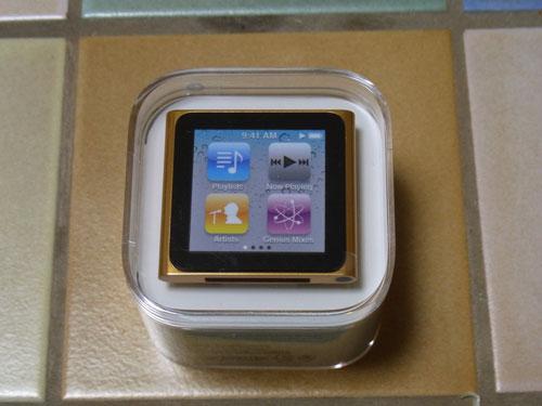 第6世代のiPod nano(16GB)